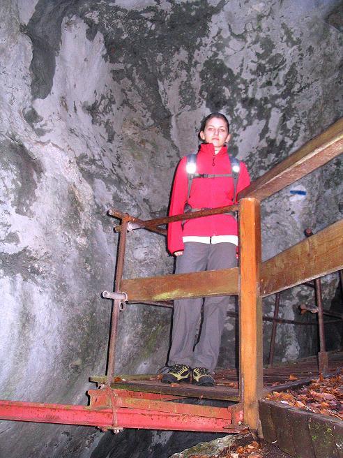 Foto: Andreas Koller / Klettersteigtour / Rudolf-Decker-Steig (720 m) / 27.12.2009 01:54:35