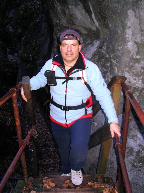 Foto: Andreas Koller / Klettersteigtour / Rudolf-Decker-Steig (720 m) / 27.12.2009 01:54:25