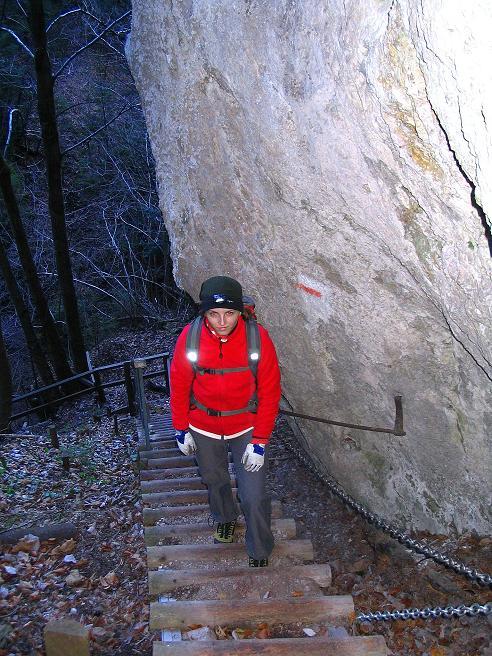 Foto: Andreas Koller / Klettersteigtour / Rudolf-Decker-Steig (720 m) / 27.12.2009 01:53:46