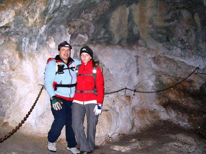 Foto: Andreas Koller / Klettersteigtour / Rudolf-Decker-Steig (720 m) / 27.12.2009 01:51:20