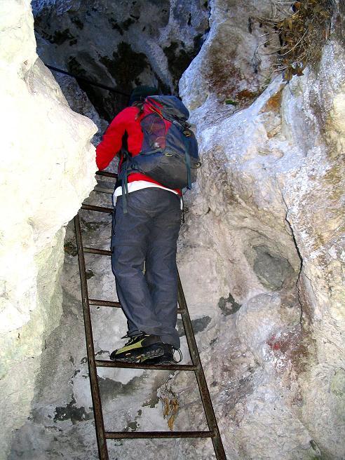 Foto: Andreas Koller / Klettersteigtour / Rudolf-Decker-Steig (720 m) / 27.12.2009 01:50:16