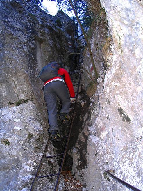 Foto: Andreas Koller / Klettersteigtour / Rudolf-Decker-Steig (720 m) / 27.12.2009 01:49:02