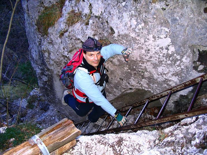 Foto: Andreas Koller / Klettersteigtour / Rudolf-Decker-Steig (720 m) / 27.12.2009 01:48:44