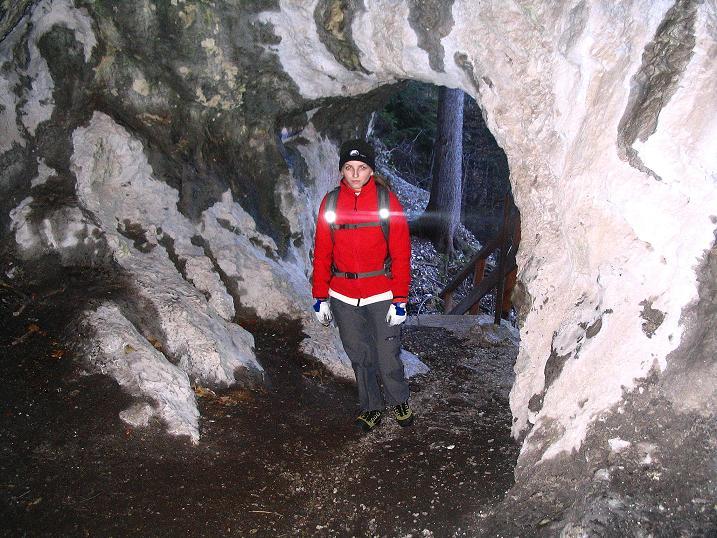 Foto: Andreas Koller / Klettersteigtour / Rudolf-Decker-Steig (720 m) / Im Türkenloch / 27.12.2009 01:47:11