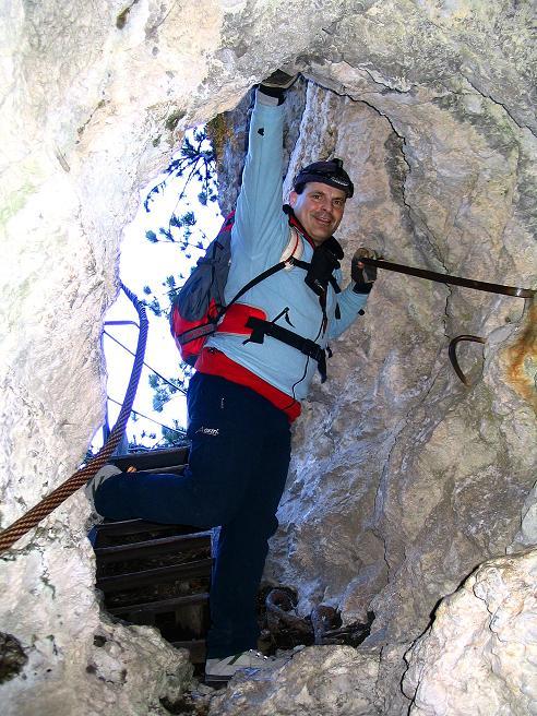 Foto: Andreas Koller / Klettersteigtour / Rudolf-Decker-Steig (720 m) / 27.12.2009 01:46:56