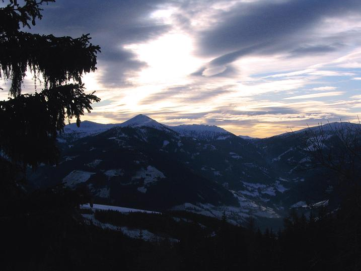 Foto: Andreas Koller / Skitour / Rundtour Stubeck (2370 m) / Nockberge / 01.01.2010 20:35:50