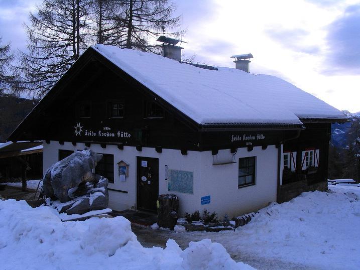 Foto: Andreas Koller / Skitour / Rundtour Stubeck (2370 m) / Frido Kordon Hütte  / 01.01.2010 20:35:41