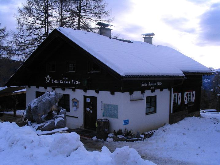 Foto: Andreas Koller / Ski Tour / Rundtour Stubeck (2370 m) / Frido Kordon Hütte  / 01.01.2010 20:35:41