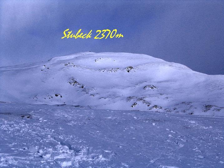 Foto: Andreas Koller / Skitour / Rundtour Stubeck (2370 m) / 01.01.2010 20:24:28
