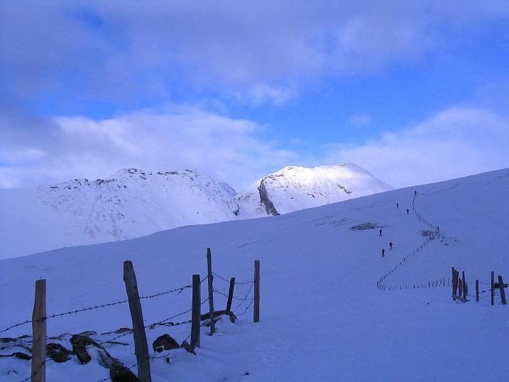 Foto: Andreas Koller / Ski Tour / Rundtour Stubeck (2370 m) / Falschauner Eck (2614 m) und Reitereck (2790 m) / 01.01.2010 20:23:20