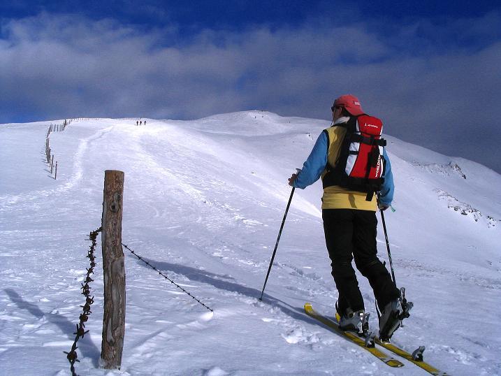 Foto: Andreas Koller / Ski Tour / Rundtour Stubeck (2370 m) / 01.01.2010 20:13:56