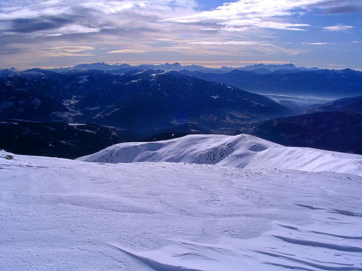 Foto: Andreas Koller / Skitour / Rundtour Stubeck (2370 m) / Sanfter Aufstieg / 01.01.2010 20:11:06