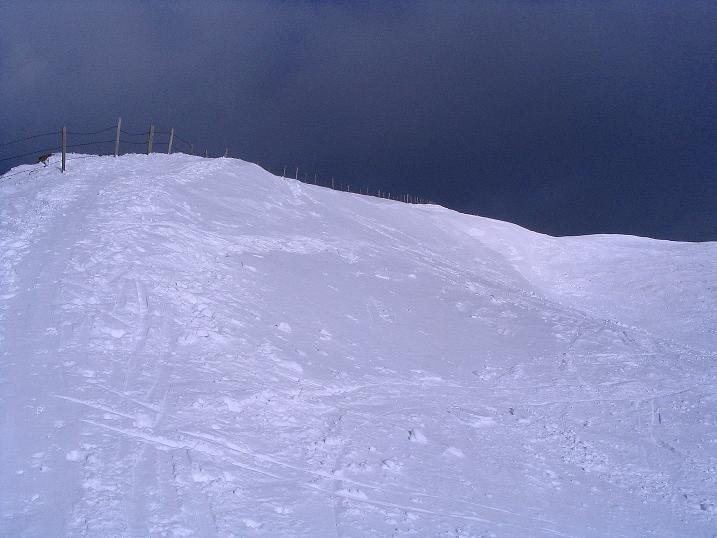 Foto: Andreas Koller / Ski Tour / Rundtour Stubeck (2370 m) / Die letzten Hm zum Gipfel / 01.01.2010 20:09:48