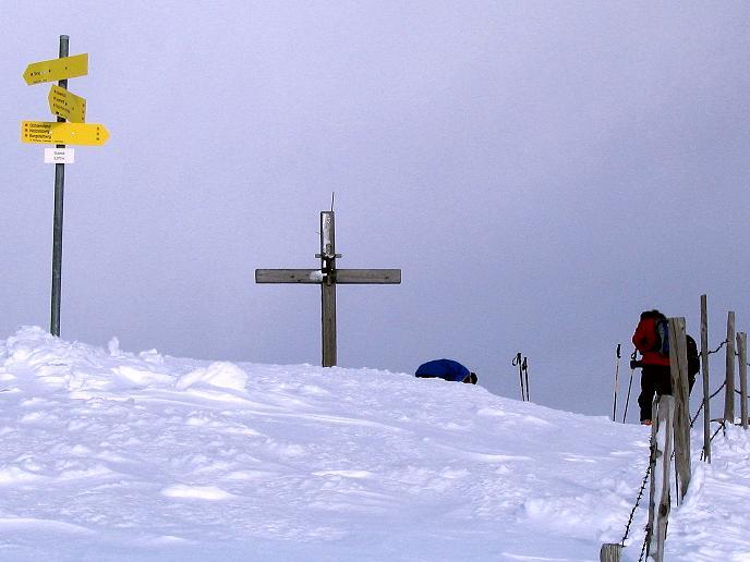 Foto: Andreas Koller / Skitour / Rundtour Stubeck (2370 m) / Ankunft am Stubeck / 01.01.2010 20:08:31