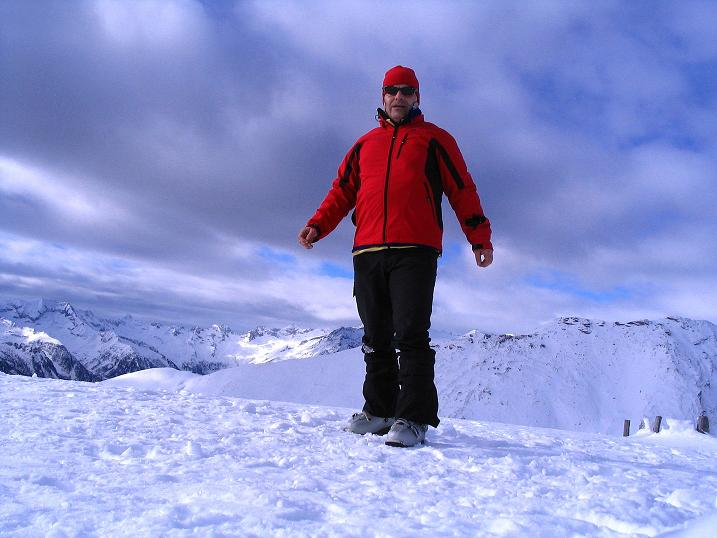 Foto: Andreas Koller / Skitour / Rundtour Stubeck (2370 m) / 01.01.2010 20:06:27