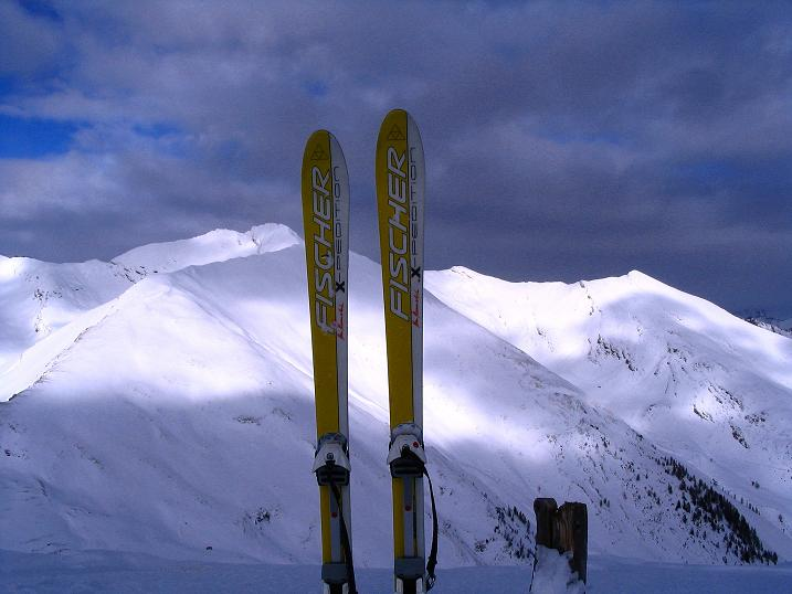 Foto: Andreas Koller / Skitour / Rundtour Stubeck (2370 m) / Blick nach N / 01.01.2010 20:04:56