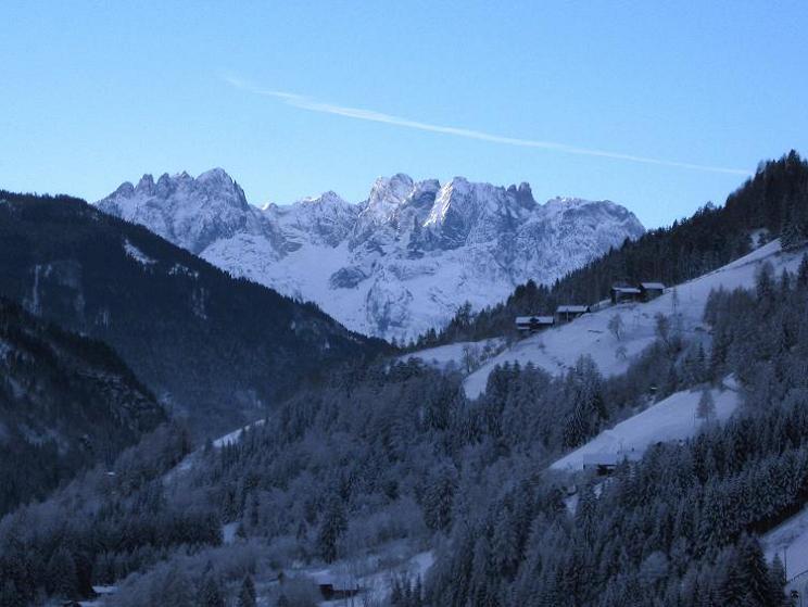 Foto: Andreas Koller / Ski Tour / Aus dem Astental auf den Stellkopf (2851 m) / Lienzer Dolomiten / 01.01.2010 21:58:48