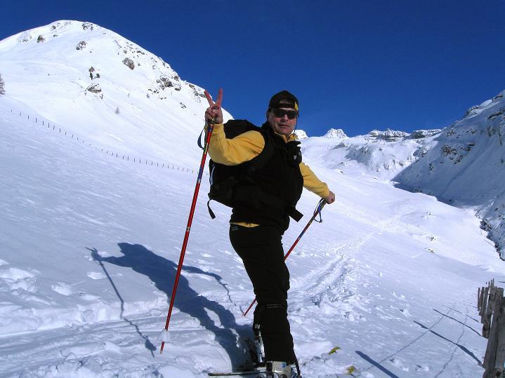 Foto: Andreas Koller / Ski Tour / Aus dem Astental auf den Stellkopf (2851 m) / 01.01.2010 21:52:22