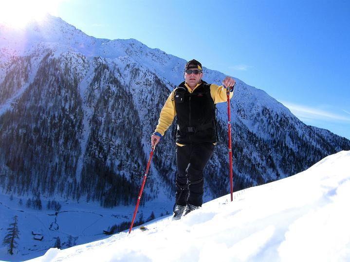 Foto: Andreas Koller / Ski Tour / Aus dem Astental auf den Stellkopf (2851 m) / 01.01.2010 21:50:35