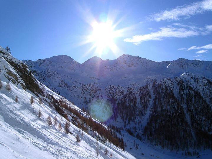 Foto: Andreas Koller / Ski Tour / Aus dem Astental auf den Stellkopf (2851 m) / Sadniggruppe (2743 m) / 01.01.2010 21:50:09