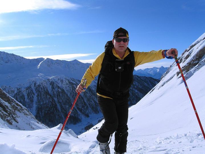 Foto: Andreas Koller / Ski Tour / Aus dem Astental auf den Stellkopf (2851 m) / 01.01.2010 21:48:49