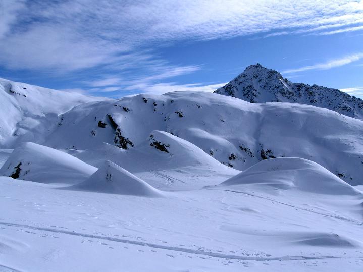 Foto: Andreas Koller / Ski Tour / Aus dem Astental auf den Stellkopf (2851 m) / Maggernigspitze (2640 m) / 01.01.2010 21:48:07