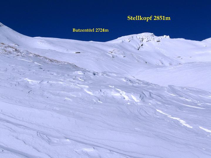 Foto: Andreas Koller / Ski Tour / Aus dem Astental auf den Stellkopf (2851 m) / 01.01.2010 21:42:15