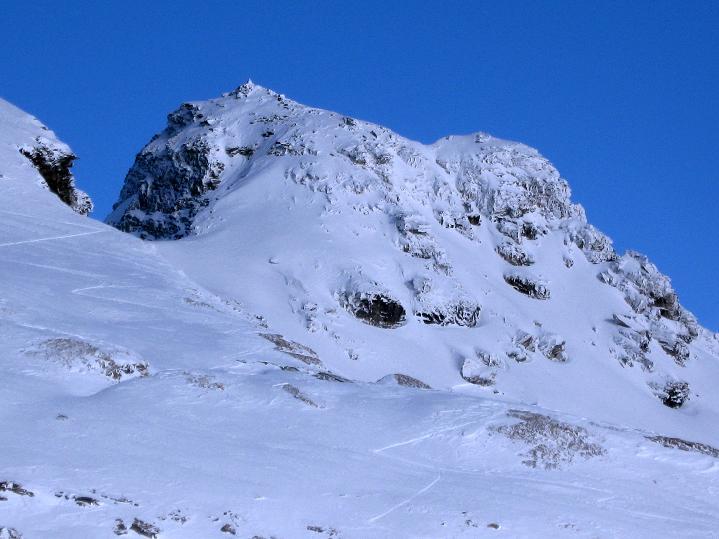 Foto: Andreas Koller / Ski Tour / Aus dem Astental auf den Stellkopf (2851 m) / Blick zur Roten Wand (2855 m) / 01.01.2010 21:37:33
