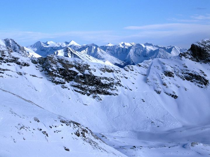 Foto: Andreas Koller / Ski Tour / Aus dem Astental auf den Stellkopf (2851 m) / Die Kreuzeckgruppe / 01.01.2010 21:34:53
