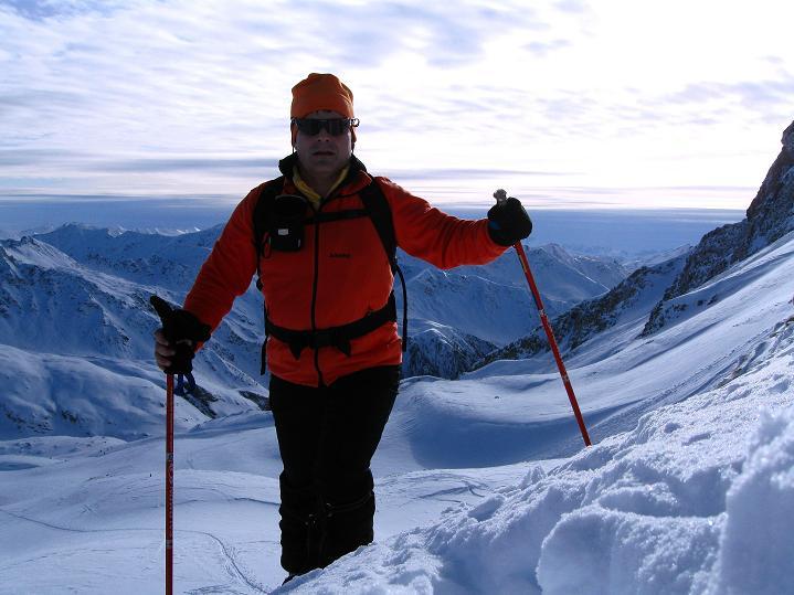Foto: Andreas Koller / Ski Tour / Aus dem Astental auf den Stellkopf (2851 m) / 01.01.2010 21:34:24