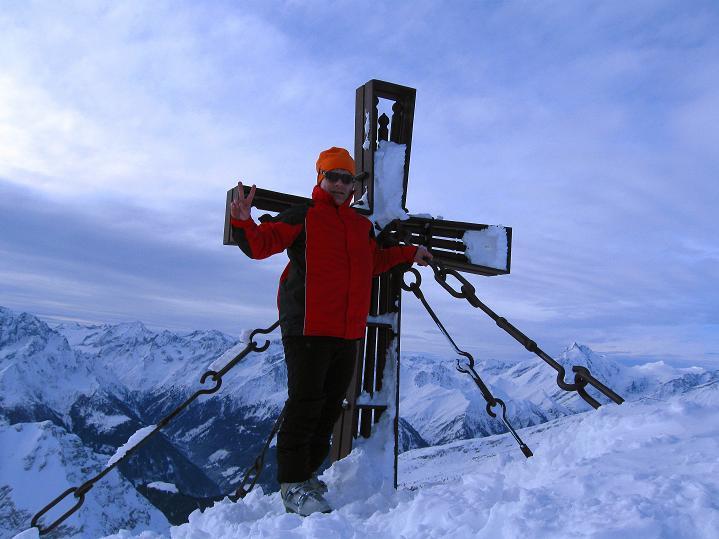 Foto: Andreas Koller / Ski Tour / Aus dem Astental auf den Stellkopf (2851 m) / 01.01.2010 21:29:32