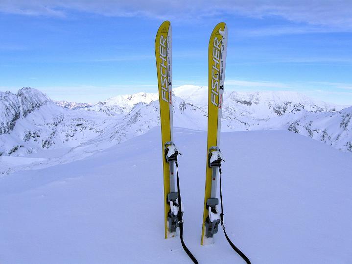 Foto: Andreas Koller / Ski Tour / Aus dem Astental auf den Stellkopf (2851 m) / 01.01.2010 21:29:07