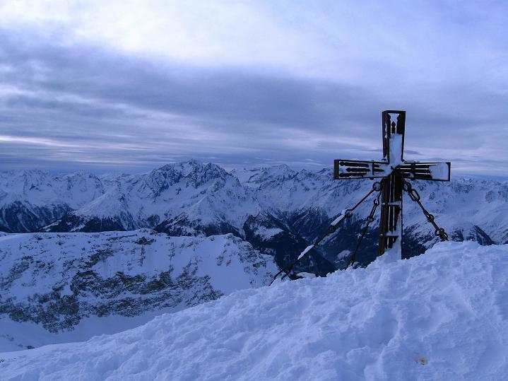 Foto: Andreas Koller / Ski Tour / Aus dem Astental auf den Stellkopf (2851 m) / 01.01.2010 21:27:49