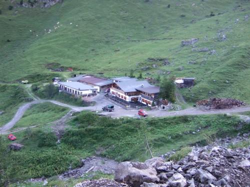 Foto: hofchri / Mountainbike Tour / Rund um das Sonnjoch über Lamsen- (1953 m) und Plumsjoch (1664 m) / die Binsalm / 01.01.2010 12:07:39