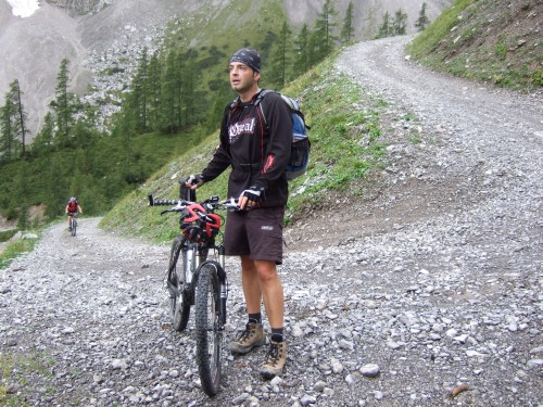 Foto: hofchri / Mountainbike Tour / Rund um das Sonnjoch über Lamsen- (1953 m) und Plumsjoch (1664 m) / großteils zum Schieben / 01.01.2010 12:05:09