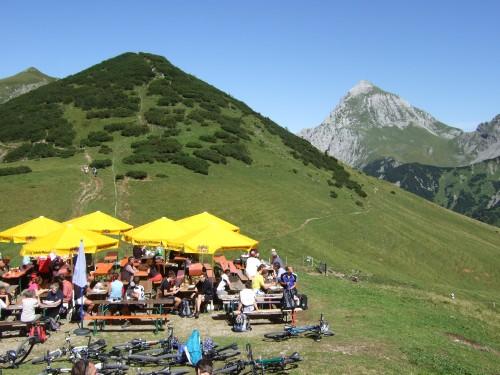 Foto: hofchri / Mountainbike Tour / Rund um den Laliderer Falk über Falkenhütte (1848 m) / 01.01.2010 12:00:22