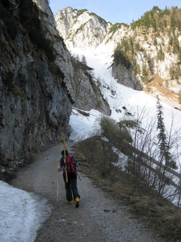 Foto: Wolfgang Lauschensky / Ski Tour / Rauschberg - Roßgasse / am Felsriegel / 31.12.2009 16:19:16