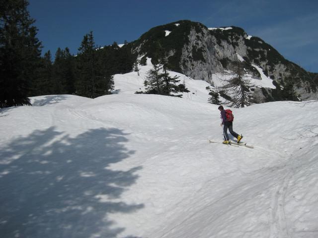 Foto: Wolfgang Lauschensky / Ski Tour / Rauschberg - Roßgasse / am Ostrücken des Hinteren Rauschbergs / 31.12.2009 16:19:04