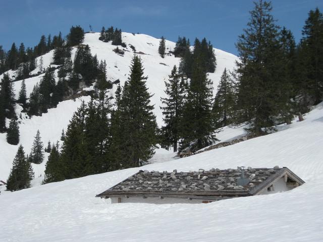 Foto: Wolfgang Lauschensky / Ski Tour / Rauschberg - Roßgasse / Rauschbergalm / 31.12.2009 16:18:52