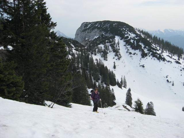 Foto: Wolfgang Lauschensky / Ski Tour / Rauschberg - Roßgasse / Roßgasseneinfahrt nach links vor Hinterem Rauschberg / 31.12.2009 16:18:39