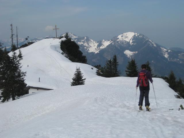 Foto: Wolfgang Lauschensky / Ski Tour / Rauschberg - Roßgasse / Vorderer Rauschberg, rechts der Hochfelln / 31.12.2009 16:18:21