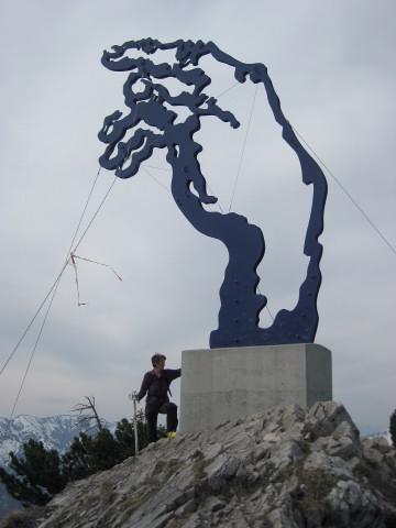 Foto: Wolfgang Lauschensky / Ski Tour / Rauschberg - Roßgasse / 'Adams Hand' / 31.12.2009 16:18:01