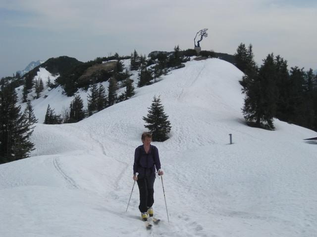 Foto: Wolfgang Lauschensky / Ski Tour / Rauschberg - Roßgasse / 'Adams Hand' am Weg zum Hinteren Rauschberg / 31.12.2009 16:17:30