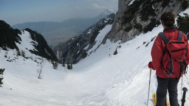 Foto: Wolfgang Lauschensky / Ski Tour / Rauschberg - Roßgasse / Roßgasseneinfahrt / 31.12.2009 16:16:37