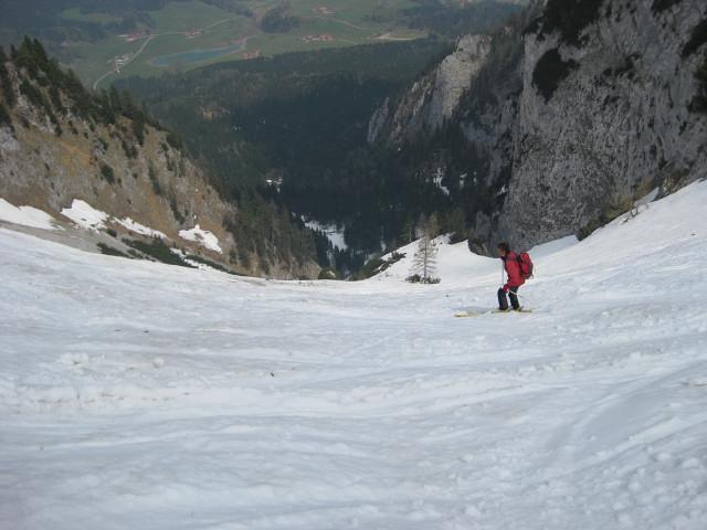 Foto: Wolfgang Lauschensky / Ski Tour / Rauschberg - Roßgasse / oberes Kar / 31.12.2009 16:16:21