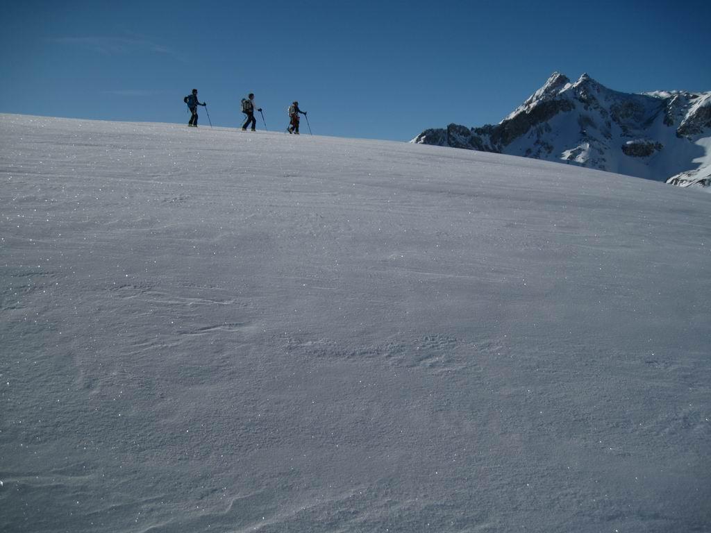Foto: Heidi Schützinger / Ski Tour / Karkopf von der Muhreralm / unser heutiges Ziel am 28.Dezember 2011 war der einsame Karkopf / 28.12.2011 18:50:03