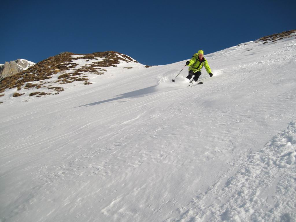 Foto: Heidi Schützinger / Ski Tour / Karkopf von der Muhreralm / Einsame Abfahrt vom Karkopf  / 28.12.2011 18:49:01