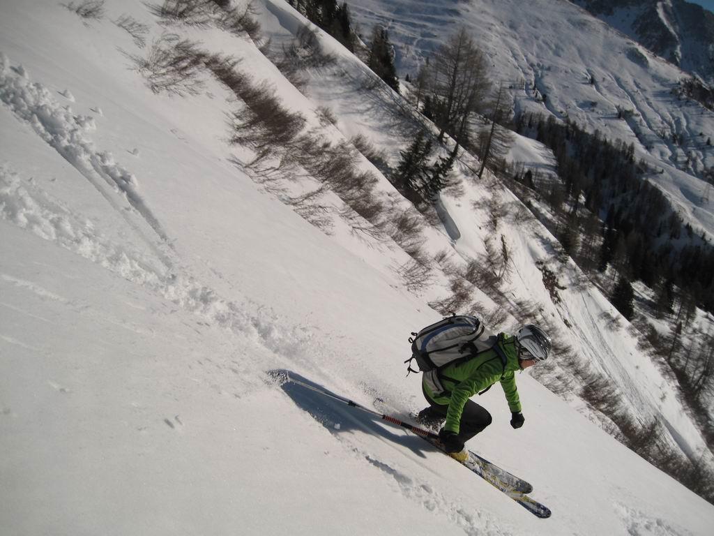 Foto: Heidi Schützinger / Ski Tour / Karkopf von der Muhreralm / Pulver oder Sulzschnee - je nach Hangrichtung<br> / 28.12.2011 18:47:36