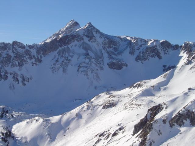 Foto: Manfred Karl / Ski Tour / Karkopf von der Muhreralm / Die beiden Mosermandln / 03.01.2010 17:29:30
