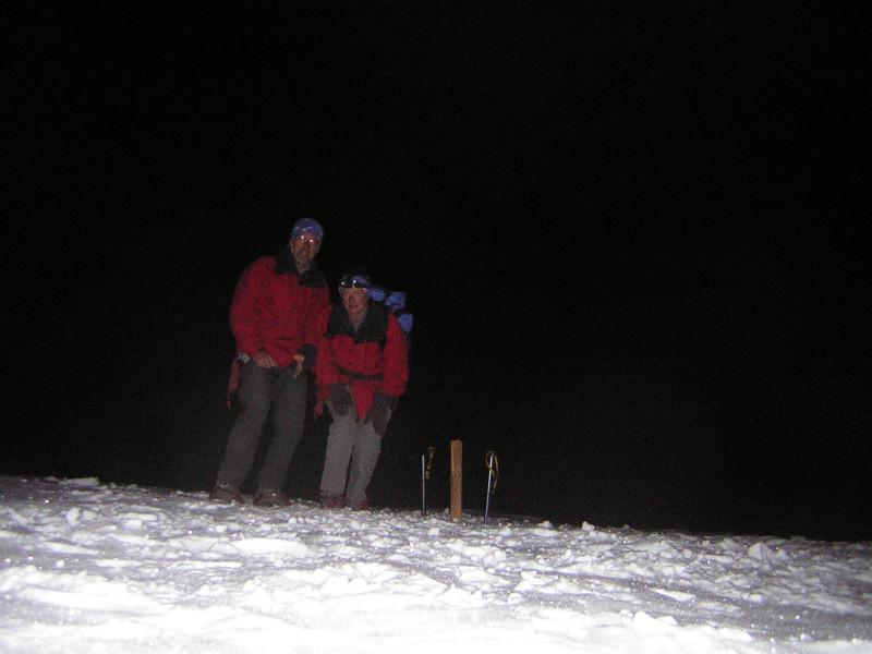 Foto: Wolfgang Lauschensky / Wander Tour / Mont Blanc 4808m Normalweg über Bossesgrat / Dom du Gouter 4304m / 01.01.2010 21:03:54